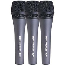 Sennheiser e 835 Cardioid Dynamic Vocal Microphone 3-Pack