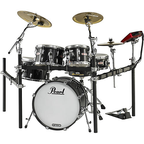 Pearl e-Pro Live Electronic Drumset with E-Classic Cymbals thumbnail