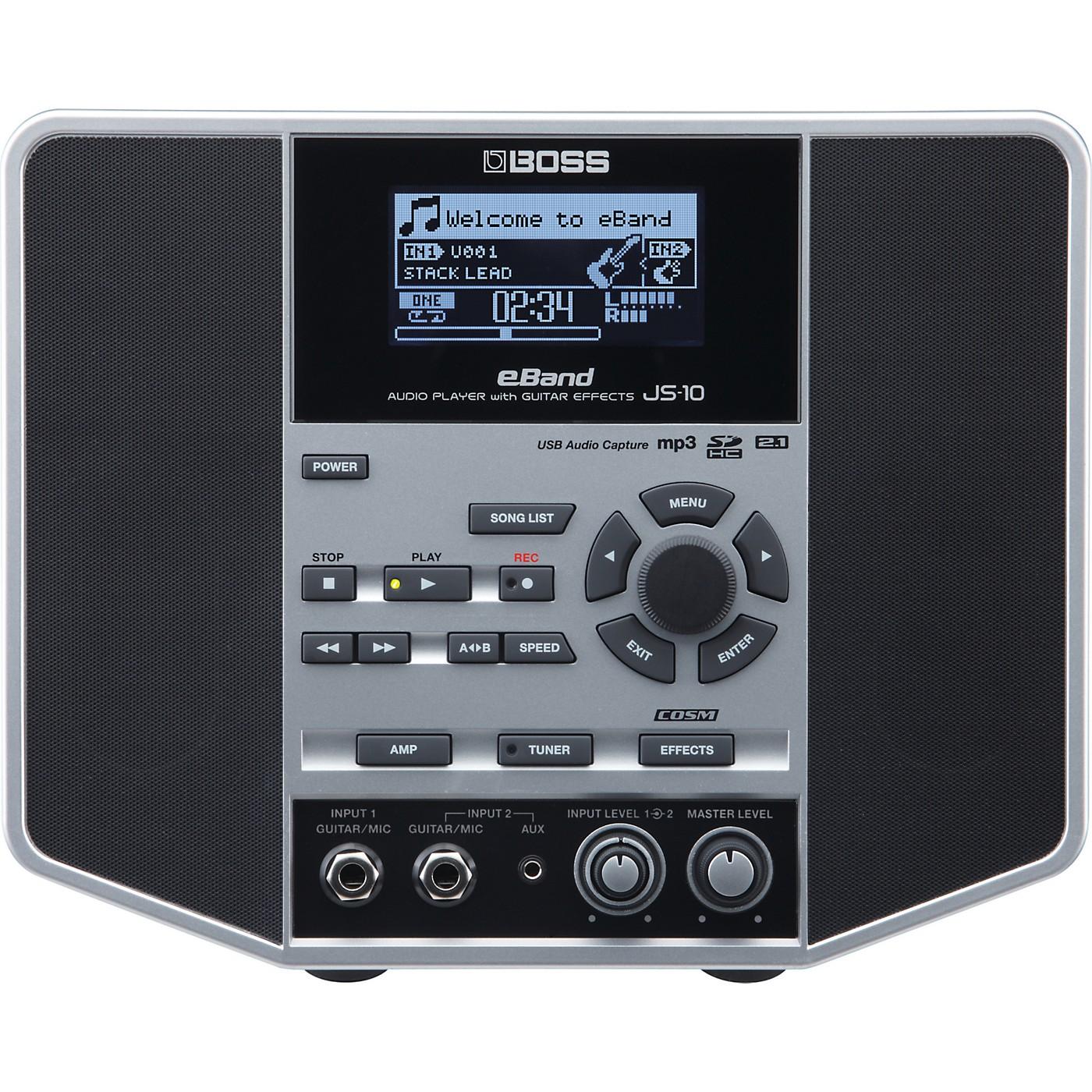 Boss eBand JS-10 Audio Player w/ Guitar Effects thumbnail