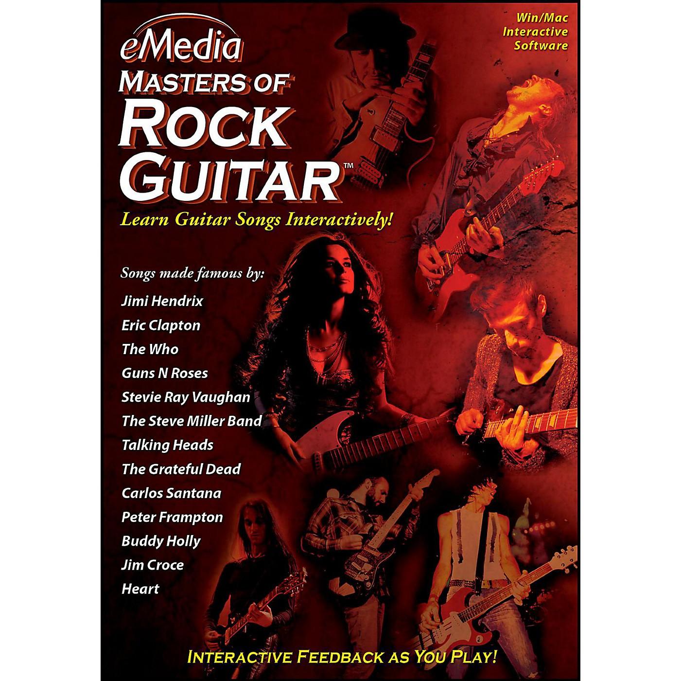 eMedia eMedia Masters of Rock Guitar - Digital Download thumbnail
