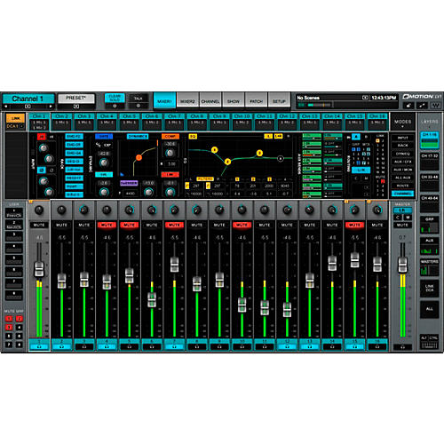 Waves eMotion LV1 Live Mixer 32 Stereo Channels thumbnail