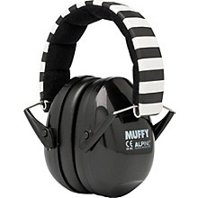 Alpine Hearing Protection (ea) Earmuffs for kids (Black)