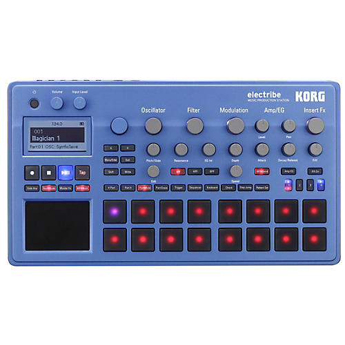 Korg electribe Music Production Station Blue Edition thumbnail