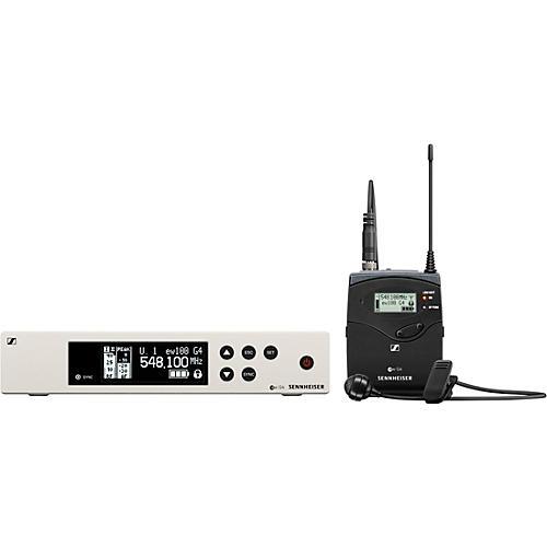 Sennheiser ew 100 G4 Lavalier Wireless System with ME4 Cardioid Lavalier Microphone thumbnail