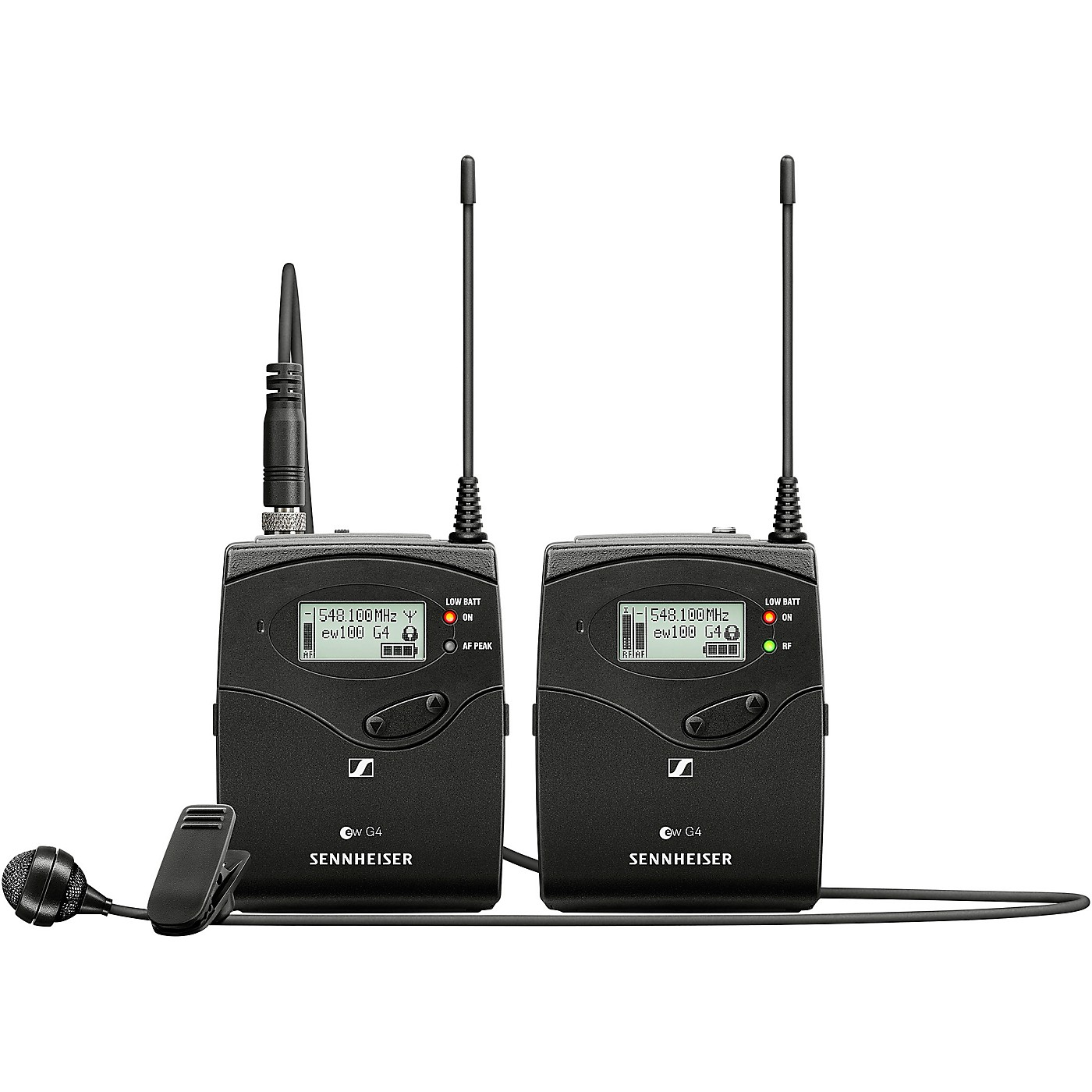 Sennheiser ew 122P G4 Portable Lavalier Wireless Set thumbnail