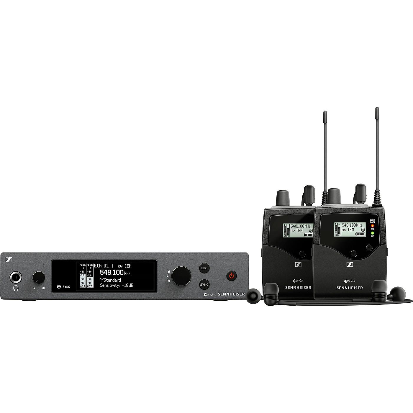 Sennheiser ew IEM G4-TWIN Wireless Stereo In-Ear Monitoring Set thumbnail