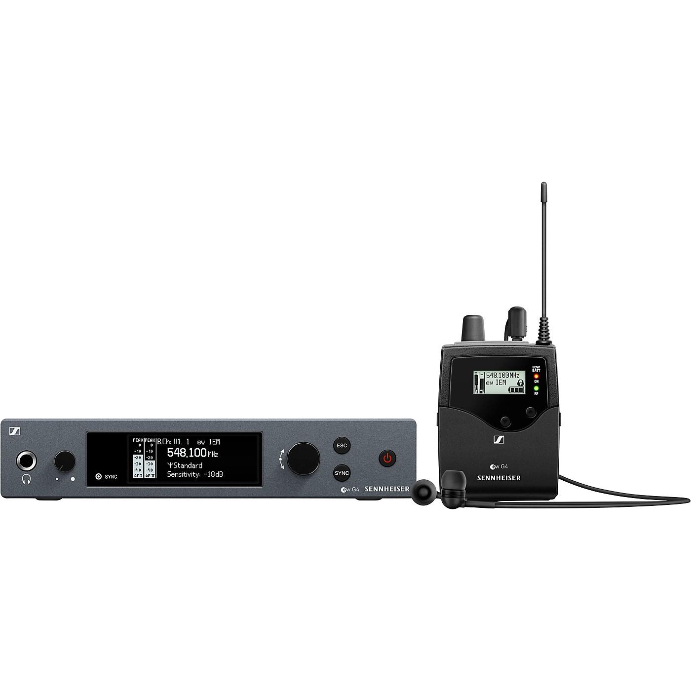 Sennheiser ew IEM G4 Wireless Stereo In-Ear Monitoring Set thumbnail