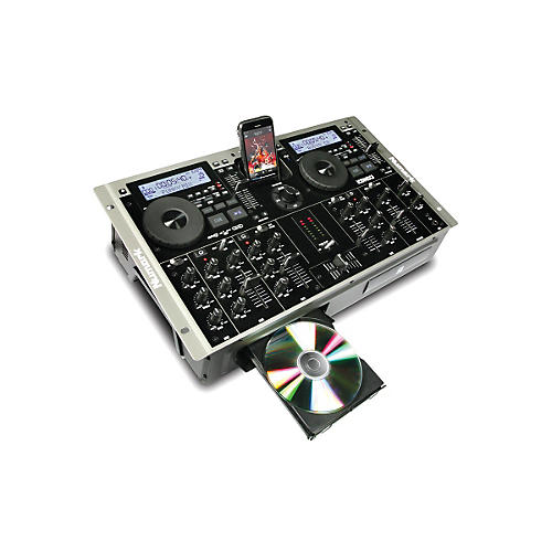 Numark iCDMIX 3 Dual MP3/CD Performance System with Universal Dock for iPod thumbnail