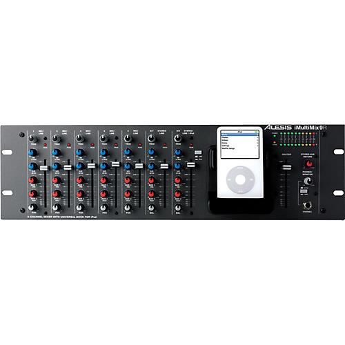 Alesis iMultiMix 9R Rackmount Mixer with iPod Dock-thumbnail