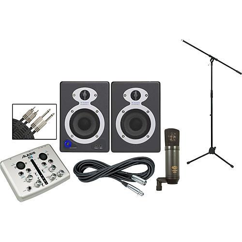 Alesis iO2 StudioPro3 Recording Package thumbnail