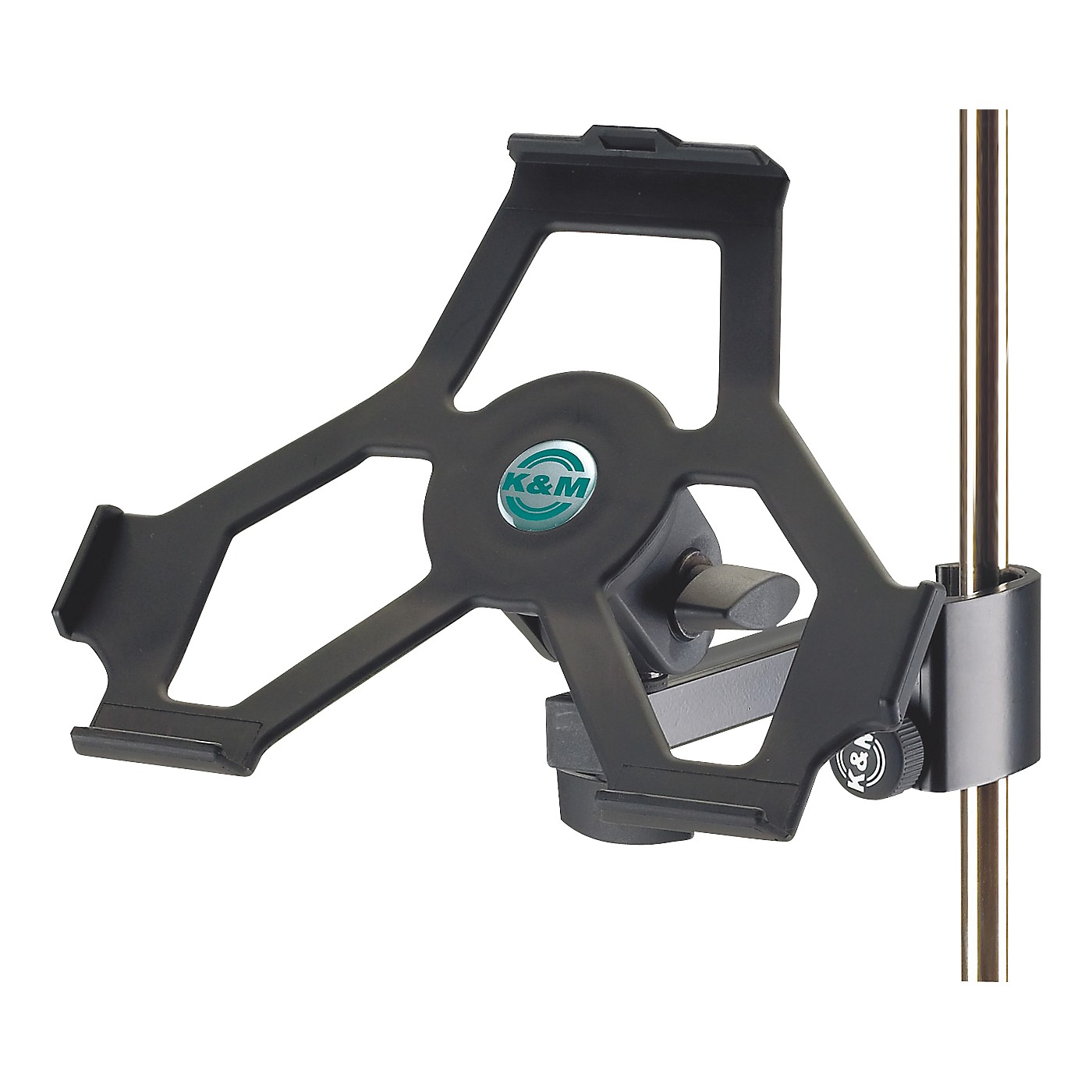 K&M iPad Holder with Prismatic Clamp thumbnail