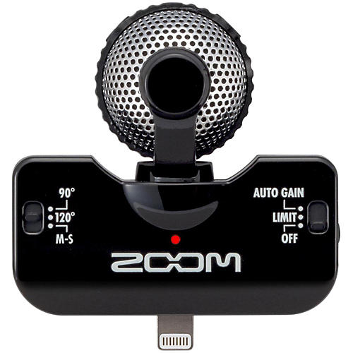 Zoom iQ5 Professional Stereo Microphone for iPhone-thumbnail