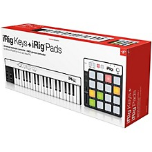 IK Multimedia iRig KEYS + iRig PADS