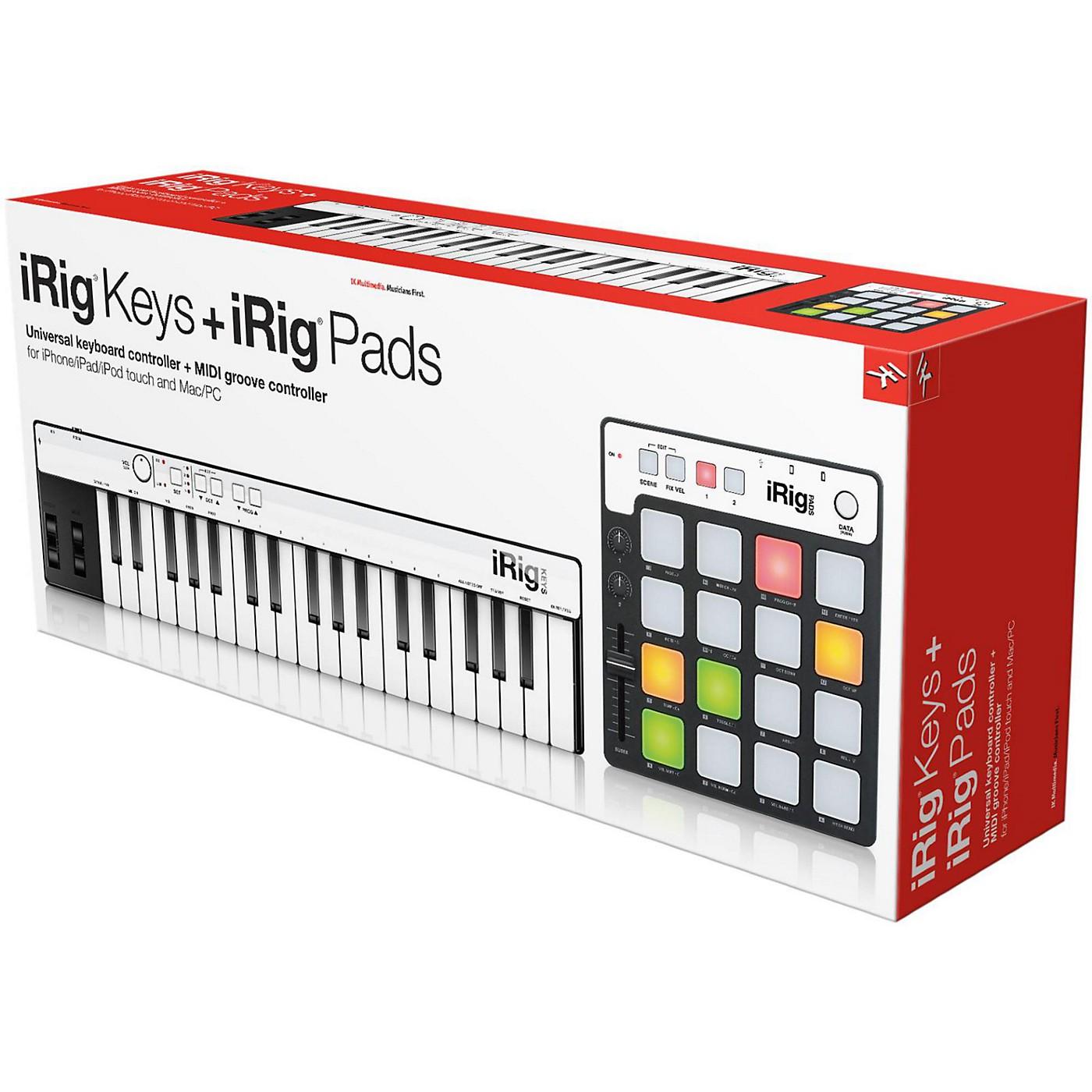 IK Multimedia iRig Keys + iRig Pads thumbnail