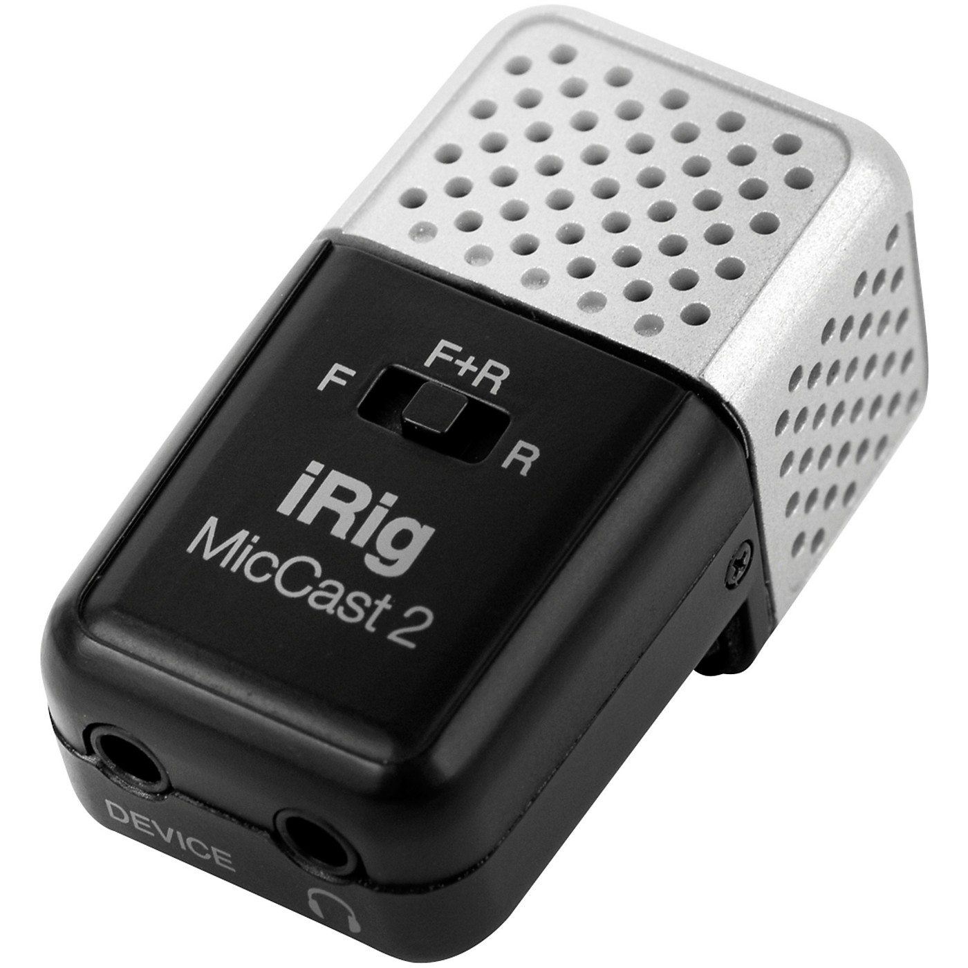 IK Multimedia iRig Mic Cast 2 for iOS, Mac and Select Android Devices thumbnail