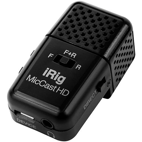 IK Multimedia iRig Mic Cast HD for Mac and Select Android Devices thumbnail