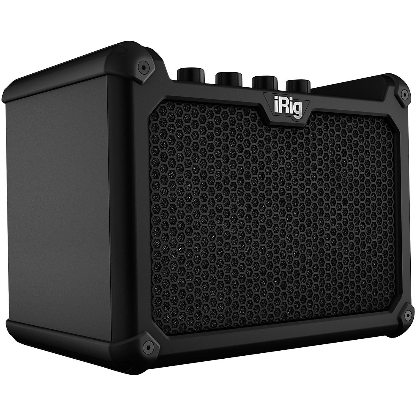 IK Multimedia iRig Micro Amp 15W 1x4 Battery-Powered Guitar Combo Amp thumbnail