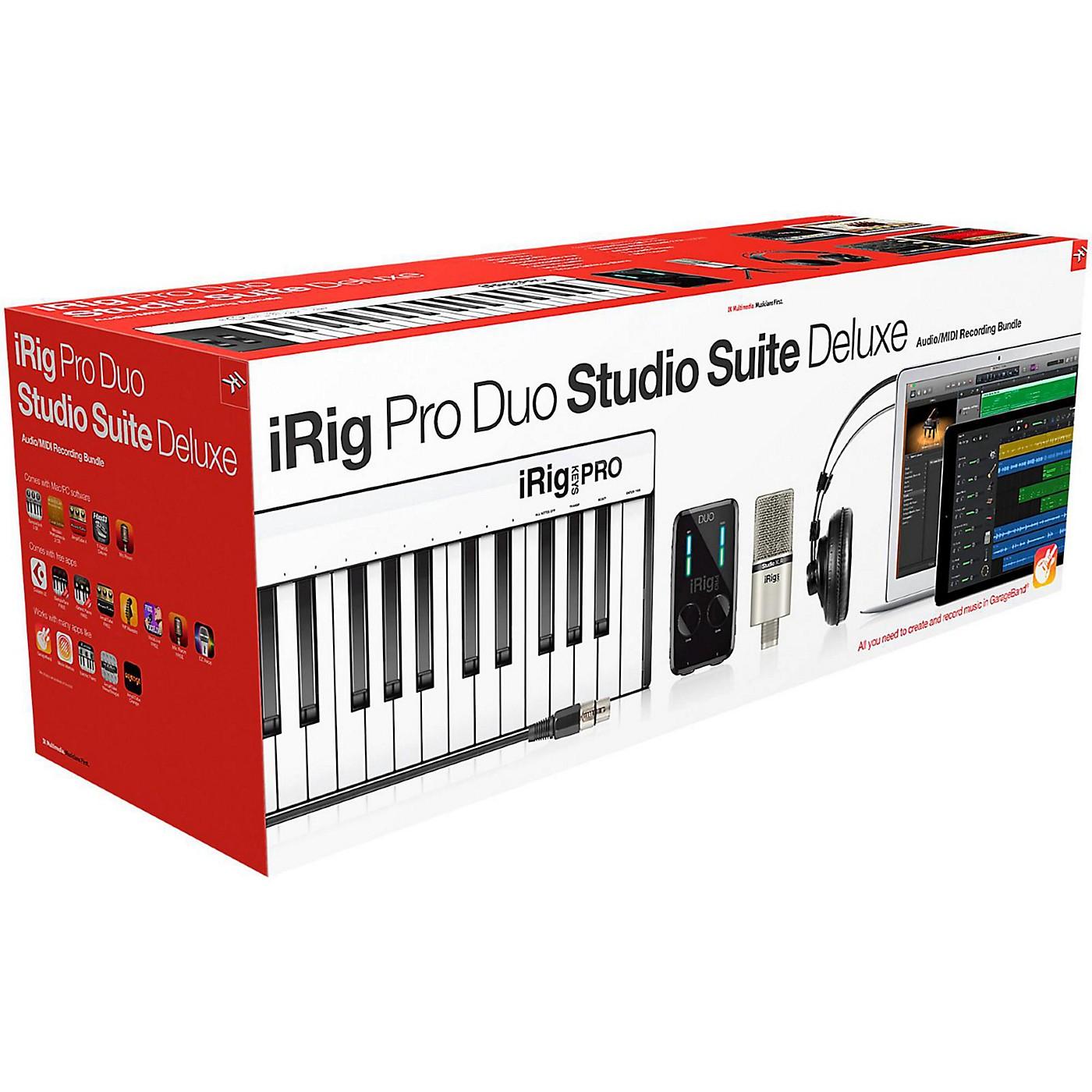 Ik Multimedia Irig Pro: IK Multimedia IRig Pro Duo Studio Suite Deluxe