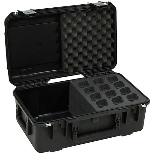 SKB iSeries Injection Molded Case For 12 Microphones thumbnail