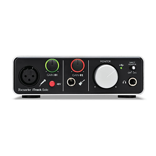 Focusrite iTrack Solo Audio Interface for iPad, Mac and PC thumbnail
