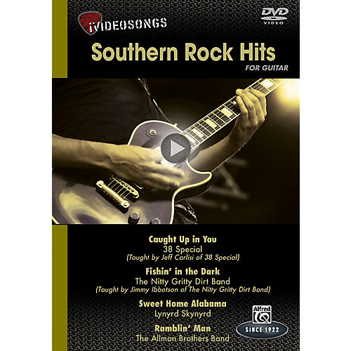 Alfred iVideosongs Southern Rock Hits DVD thumbnail