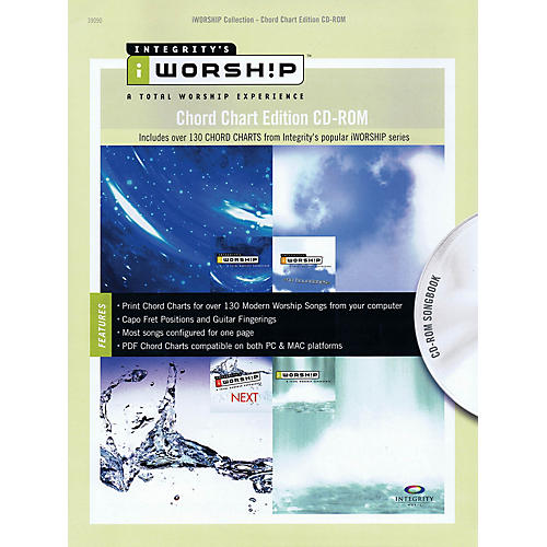 Integrity Music iWorship - Chord Chart Edition CD-ROM Integrity Series CD-ROM Performed by Various thumbnail