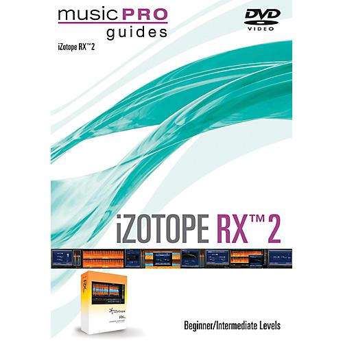 Hal Leonard iZotope RX 2 Music Pro Guide Series (Beginner/Intermediate) DVD thumbnail