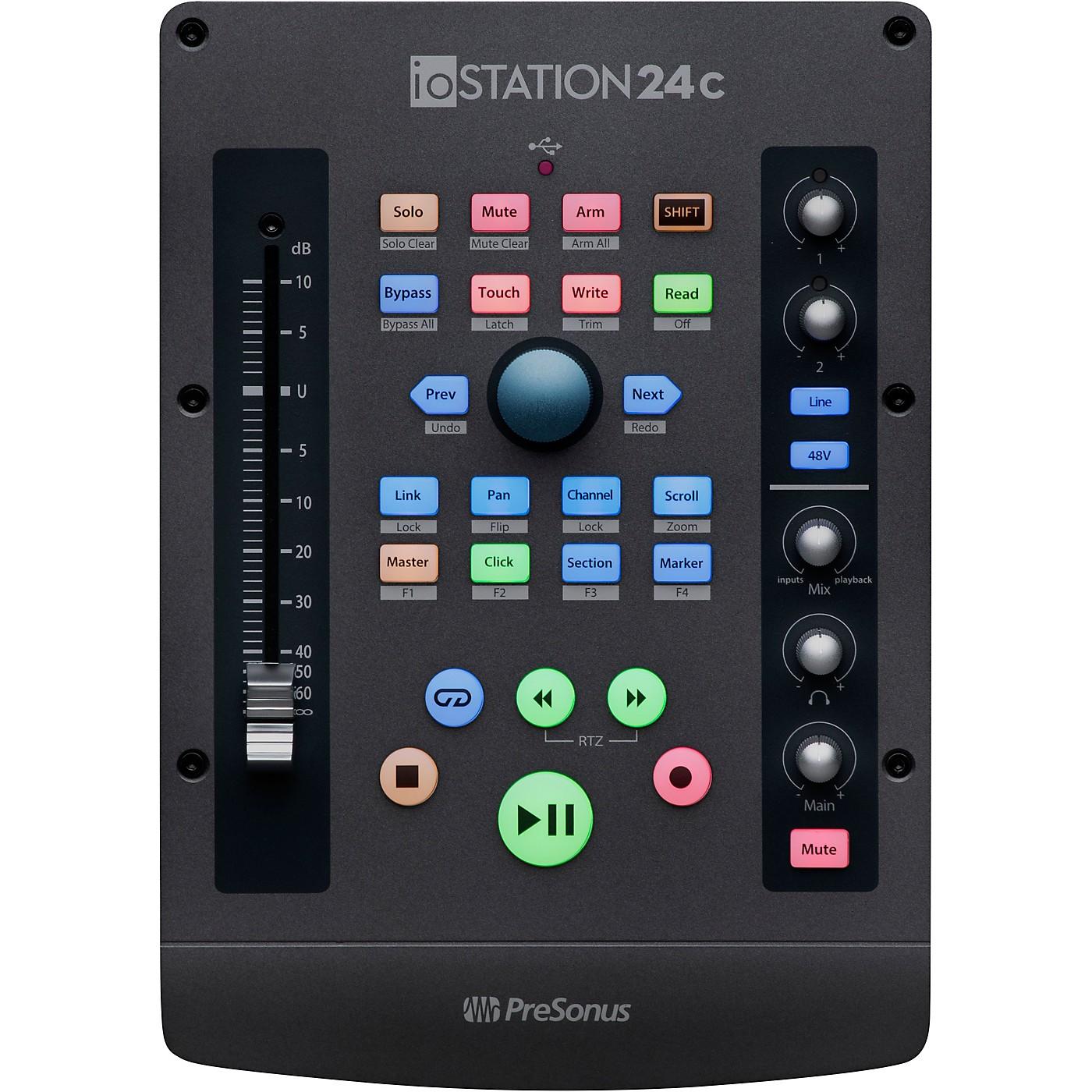 Presonus ioStation 24c Audio Interface thumbnail