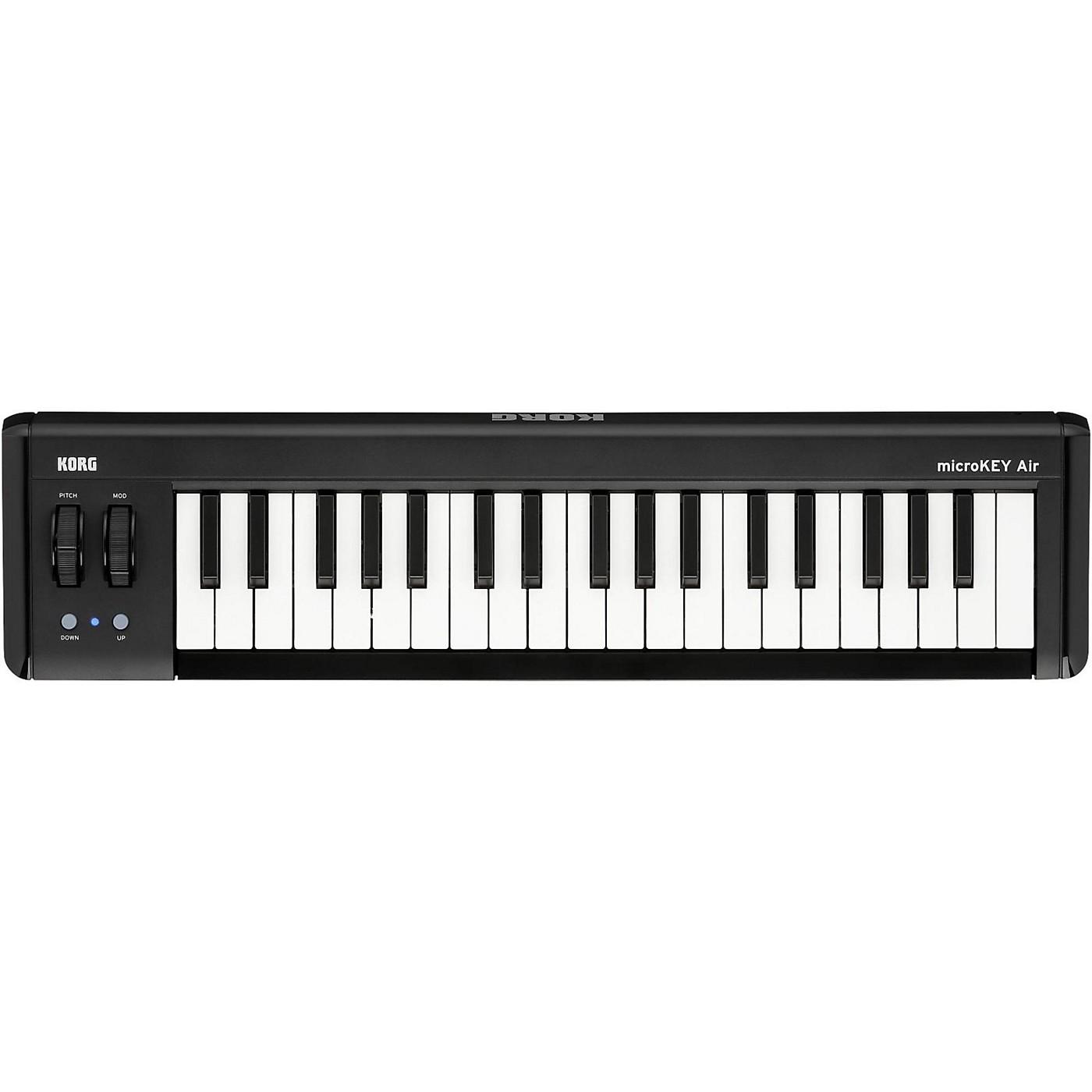 Korg microKEY Air 37-Key Bluetooth MIDI Controller thumbnail