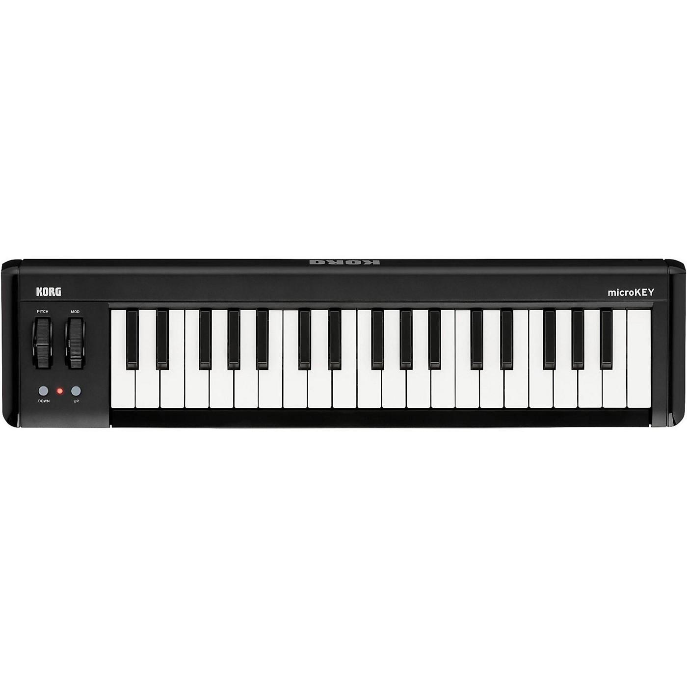 Korg microKEY2 37-Key Compact MIDI Keyboard thumbnail