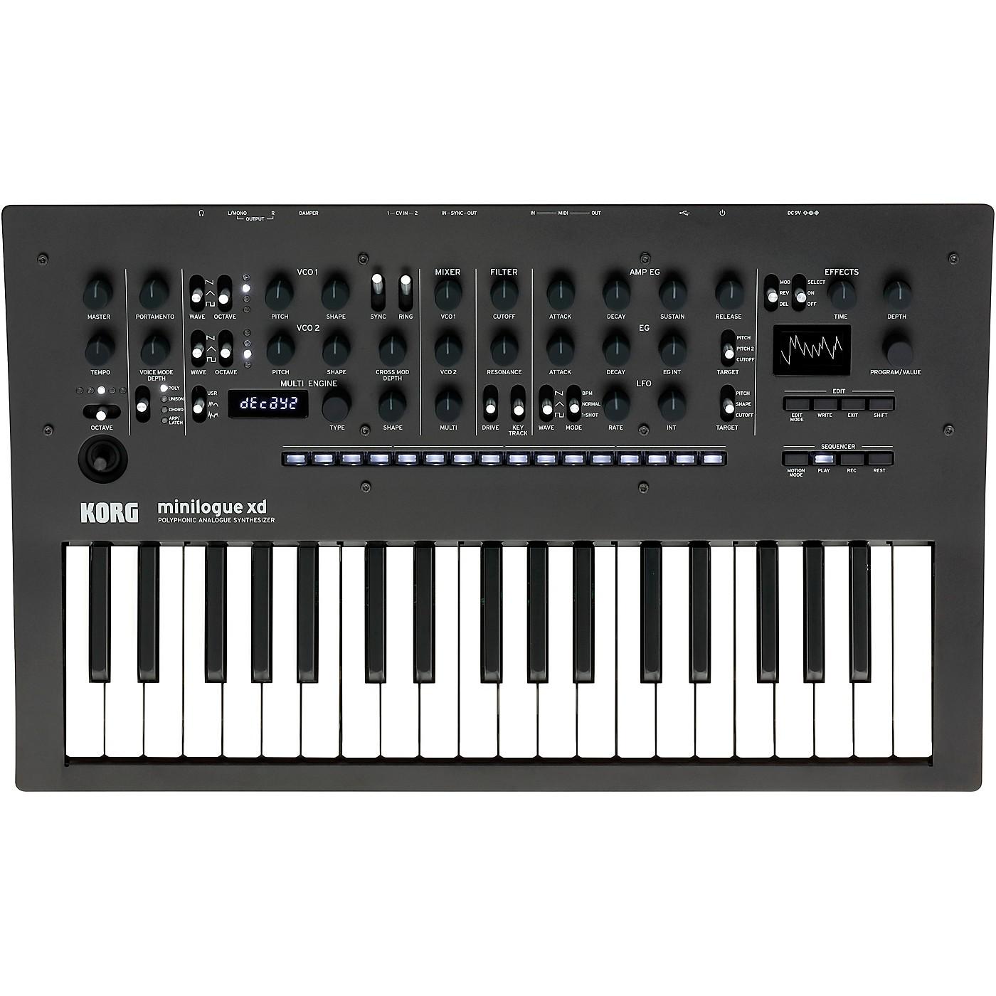 Korg minilogue xd Polyphonic Analog Synthesizer thumbnail