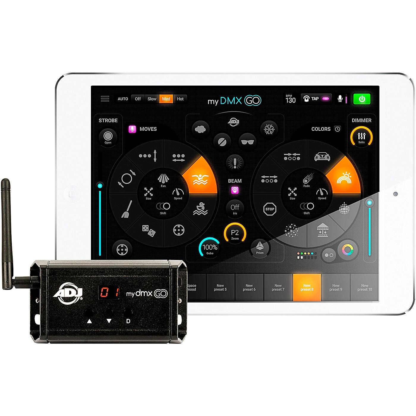 American DJ mydmx GO DMX Lighting Control System thumbnail