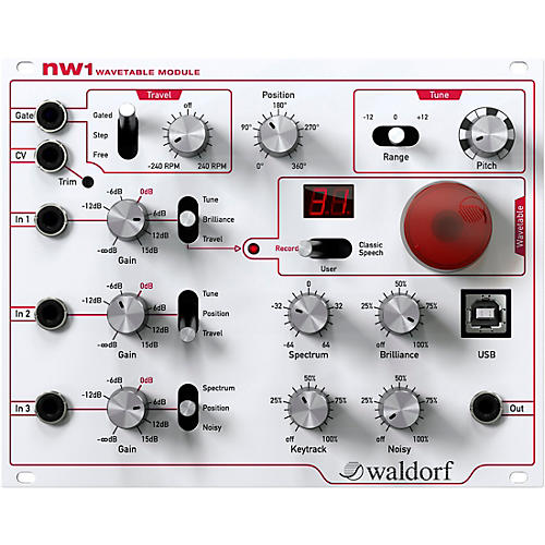 Waldorf nw1 Wavetable Module thumbnail