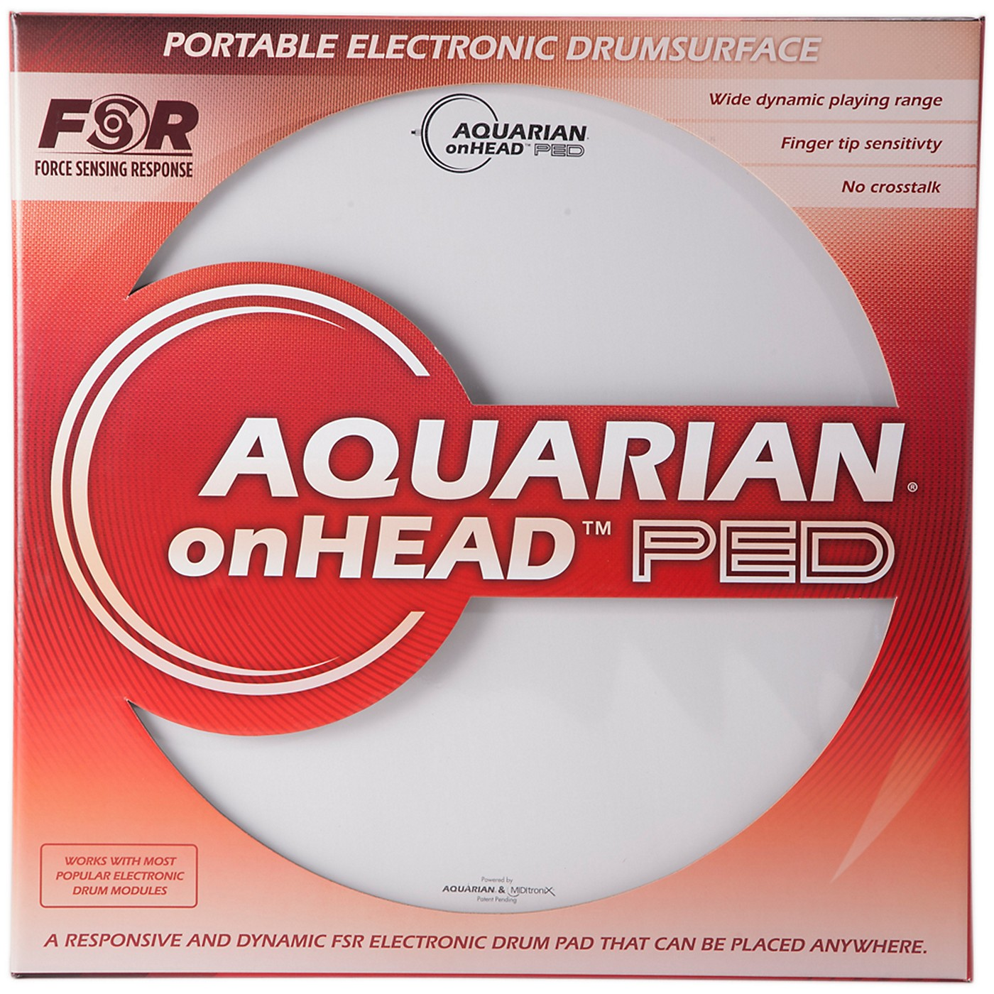 Aquarian onHEAD Portable Electronic Drumsurface thumbnail