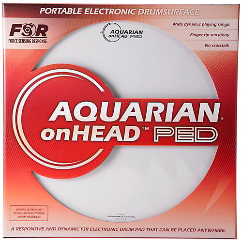 Aquarian onHEAD Portable Electronic Drumsurface Bundle Pak thumbnail