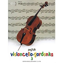 Editio Musica Budapest Árpád Pejtsik - Violoncello Method - Volume 3 EMB Series Softcover Composed by Árpád Pejtsik