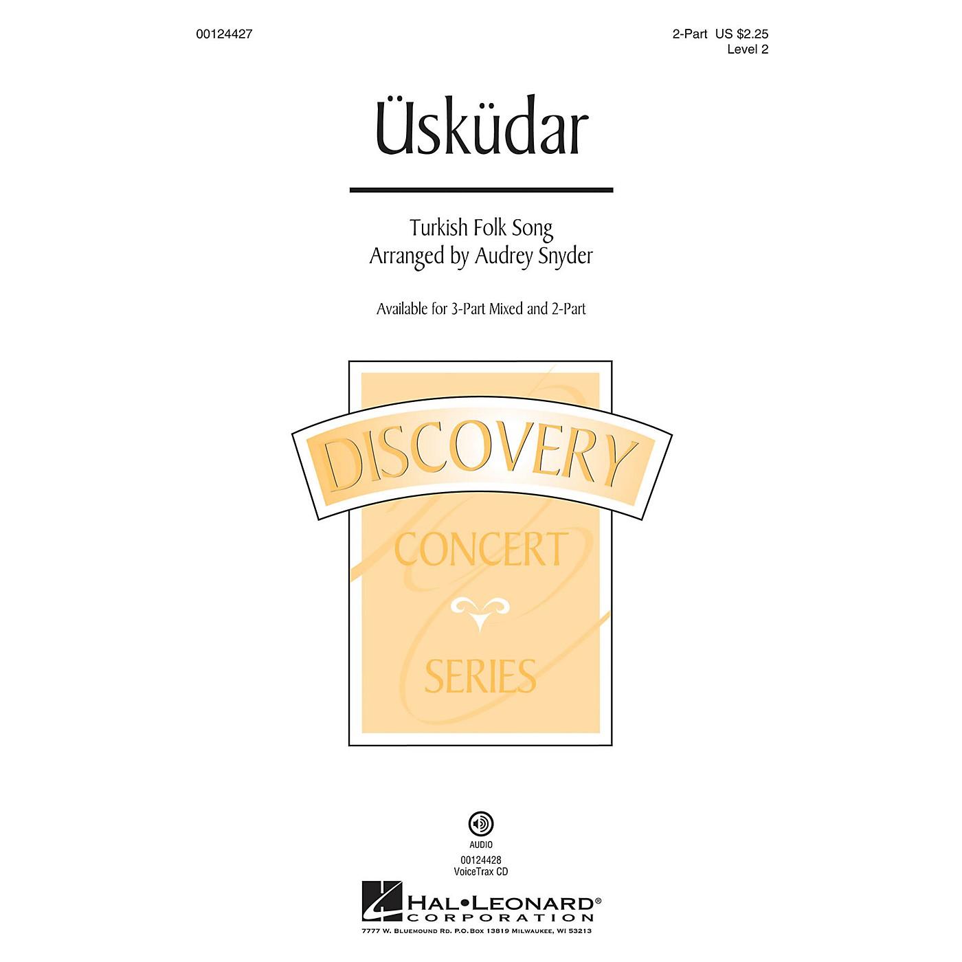 Hal Leonard Üsküdar (Discovery Level 2) 2-Part arranged by Audrey Snyder thumbnail