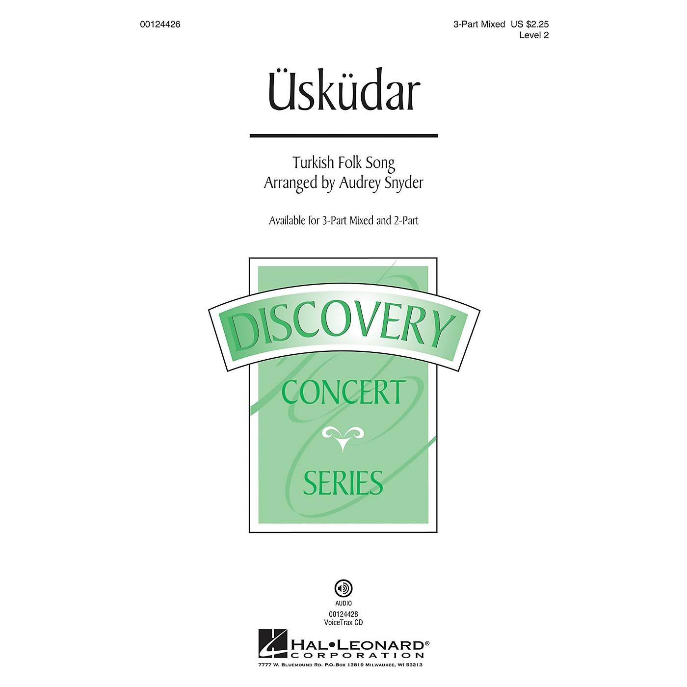 Hal Leonard Üsküdar (Discovery Level 2) VoiceTrax CD Arranged by Audrey Snyder thumbnail