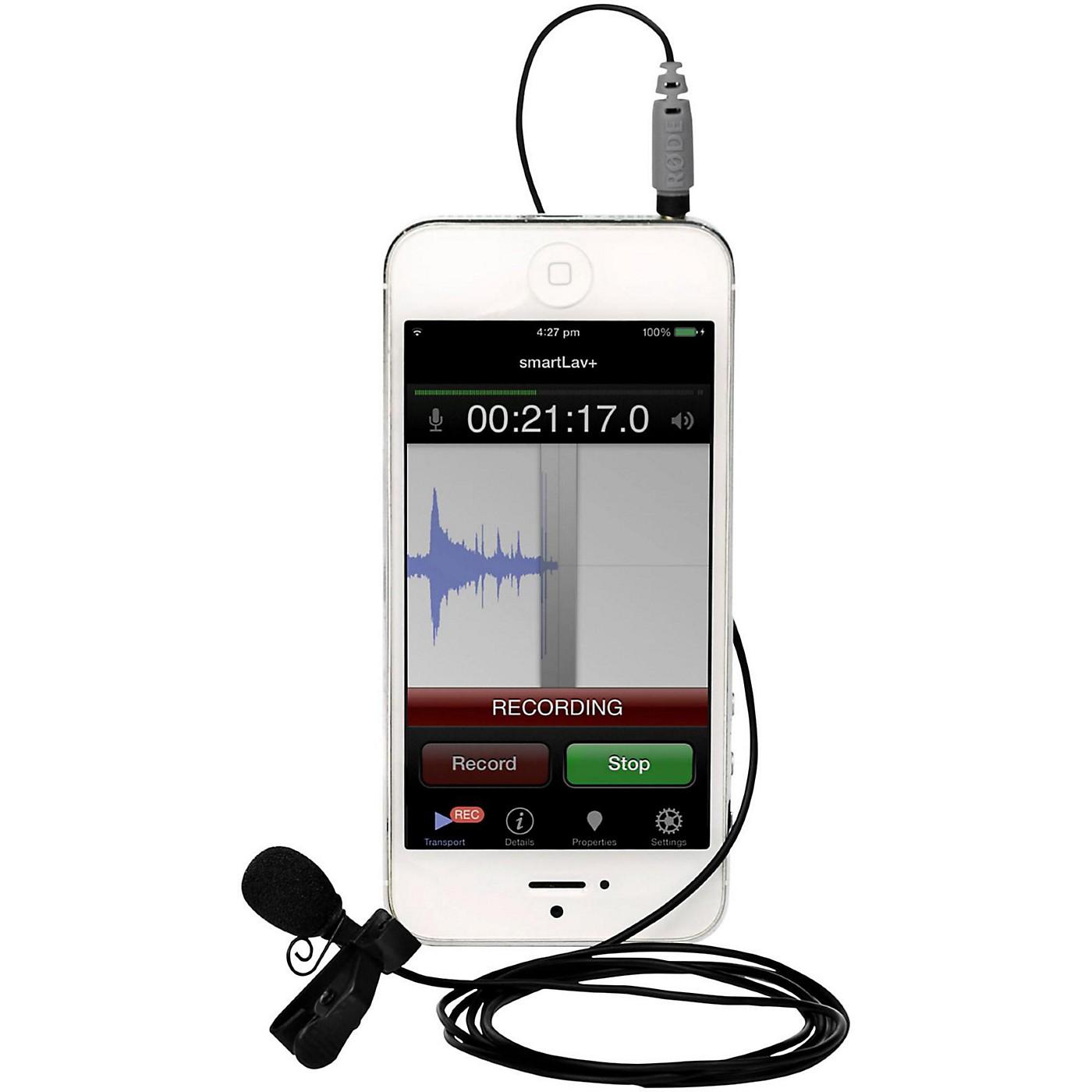 Rode smartLav+ Lavalier Microphone for Smartphones thumbnail