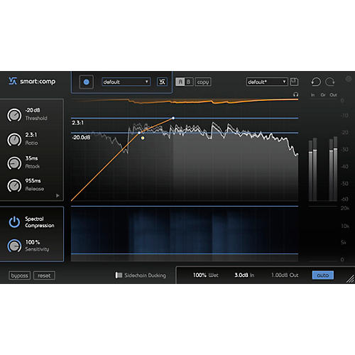 SONIBLE smart:comp Spectro-Dynamic Compressor Plug-in thumbnail