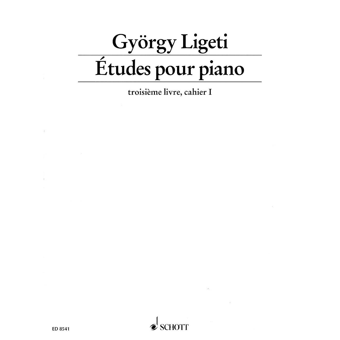 Schott Études pour Piano - Volume 3, Part 1 Schott Series thumbnail