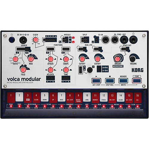 Korg volca modular Micro Modular Synthesizer thumbnail