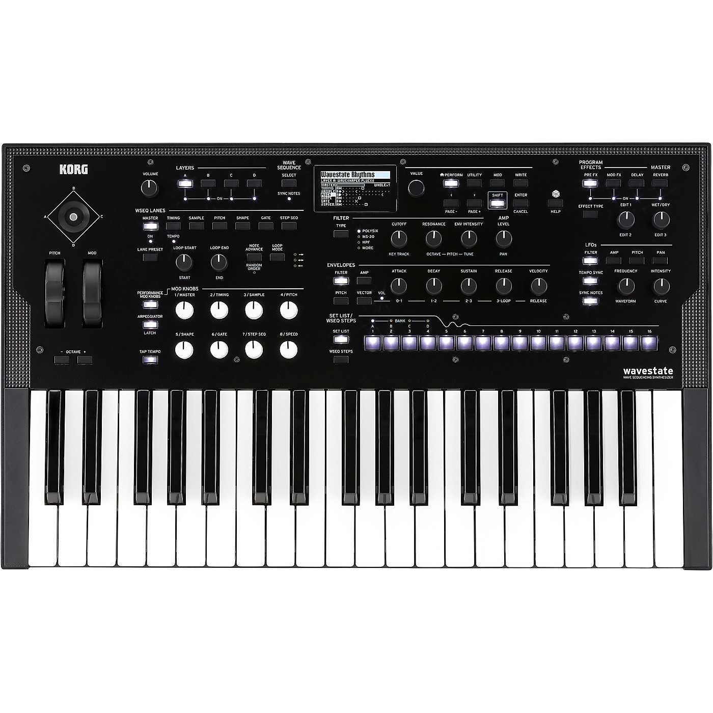 Korg wavestate Sequencing Synthesizer thumbnail